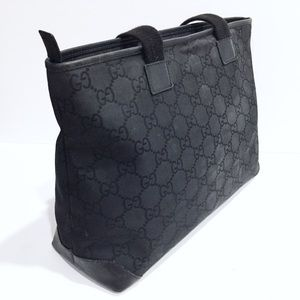 Gucci Bags - Gucci vintage monogram nylon and leather tote
